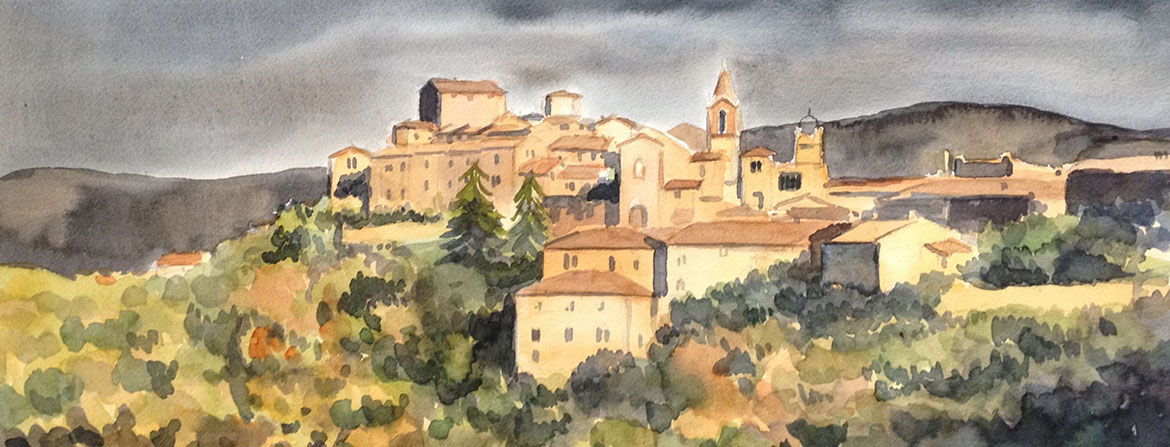 Painting of Montisi