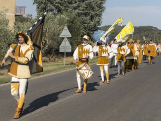 Medieval Procession for the Giostra di Simone 2017