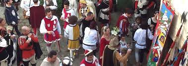 Medieval procession for the Giostra di Simone