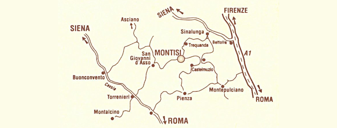 Map of Montisi