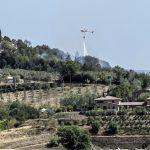 Helicopter over Castelmuzio