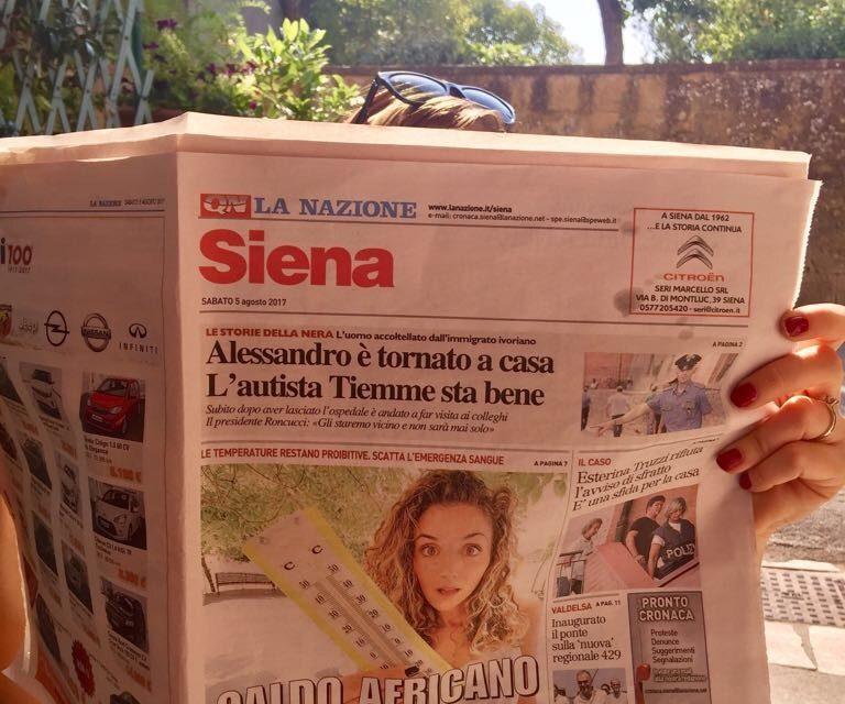 Giostra sui giornali!