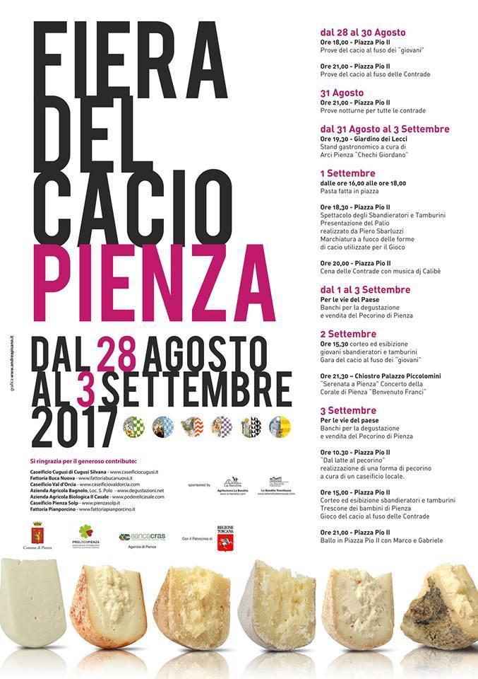 Pienza cheese festival