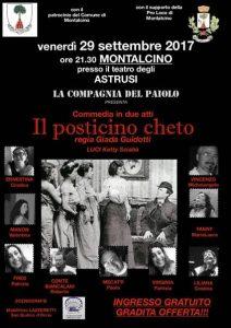 Teatro in Montalcino